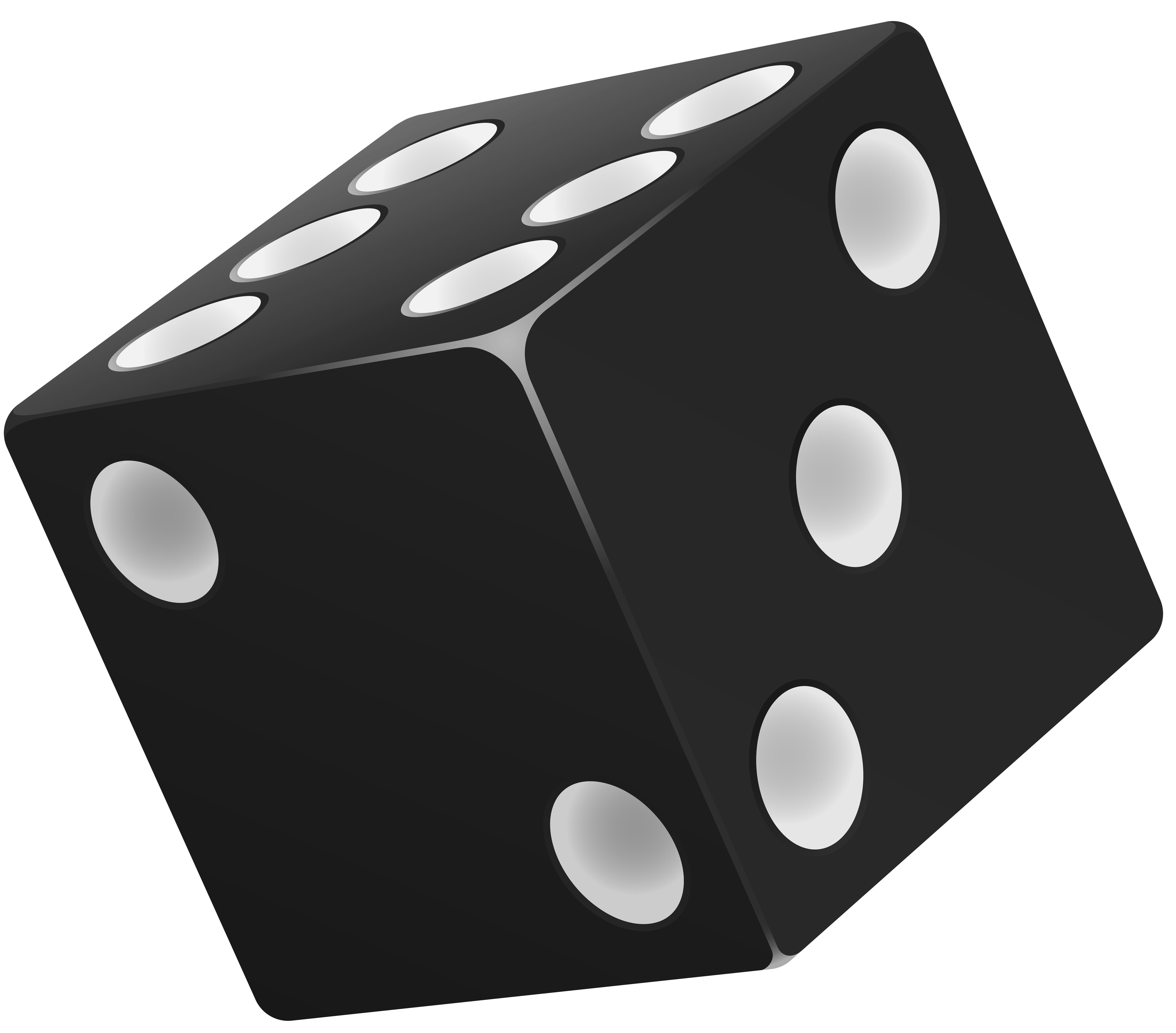 clipart library stock Dice png art best. Black clip