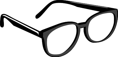 graphic black and white download Eyeglasses clip art free. Goggles clipart spectacles frame