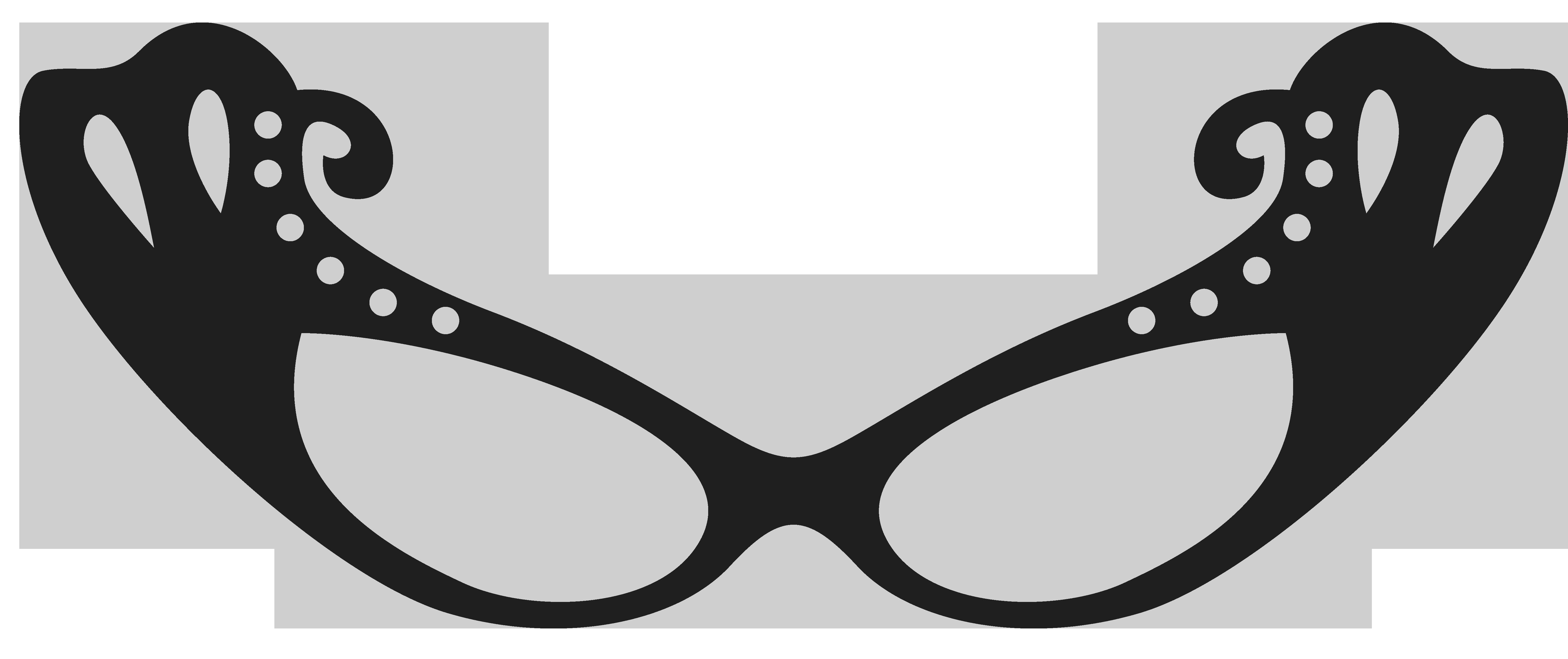 clip art Movember Glasses Clipart Image