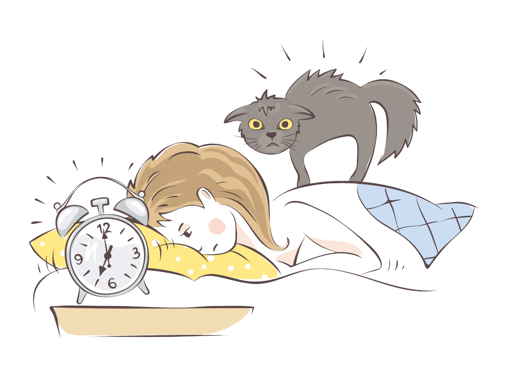 jpg royalty free download How i cure insomnia. Waking clipart late