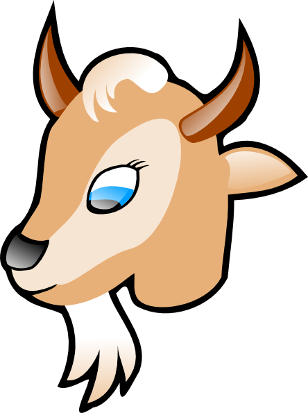 free Goat clipart toon. X panda free images