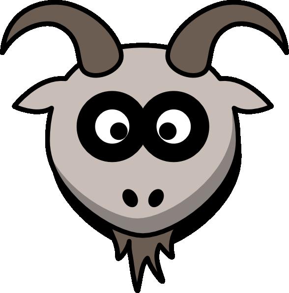 banner transparent library Goat Head Clip Art at Clker