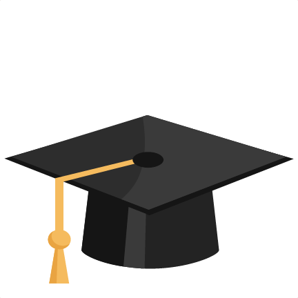 svg transparent download Graduation Hat Silhouette at GetDrawings