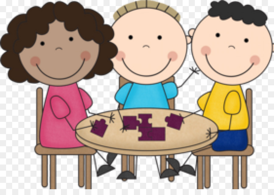 banner free library Students working in groups clipart. Friendship cartoon student child