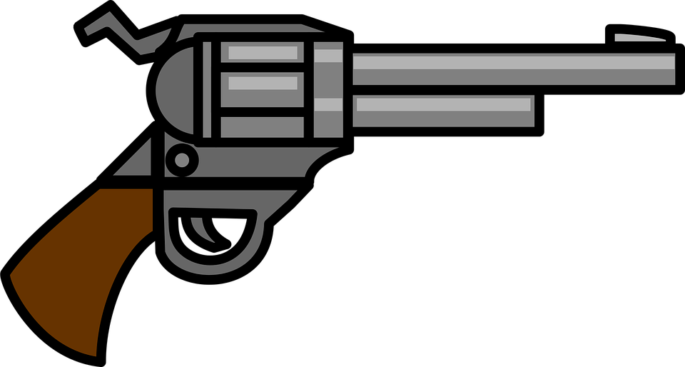 png free library Guns clipart gun shooting. Silhouette clip art at