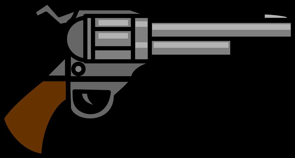 png free library Silhouette clip art at. Guns clipart gun shooting