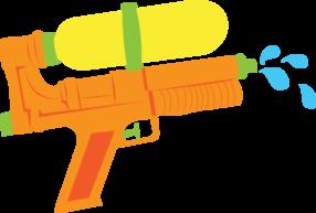 clip art royalty free Gun clipart printable. Water toys ball minus