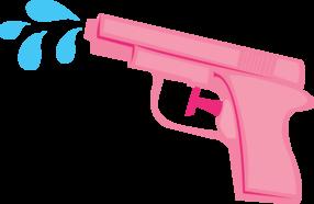 picture transparent Guns clipart toy gun. Water summer time stuff