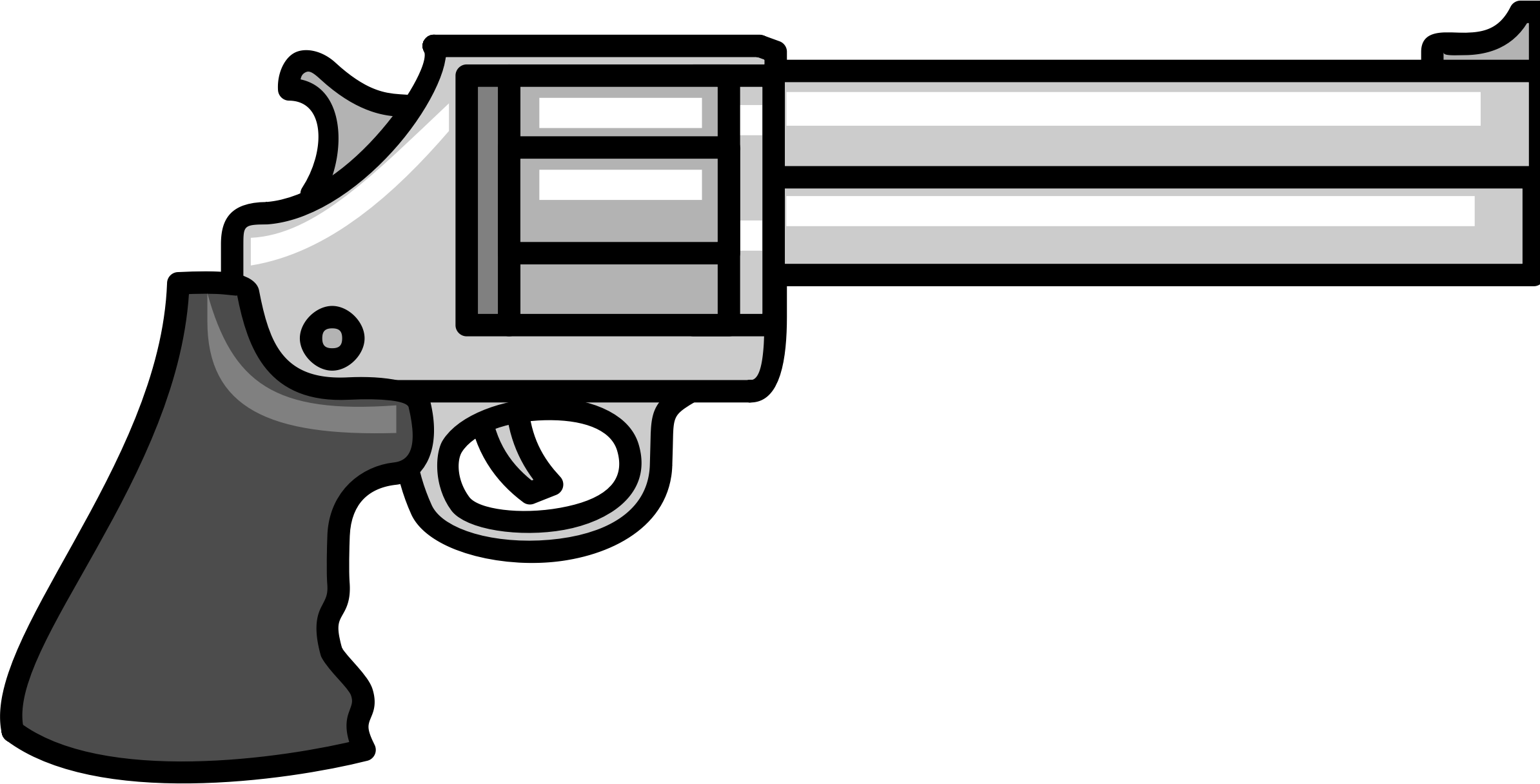 graphic library library Gun clipart. Pistol free on dumielauxepices
