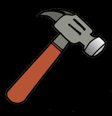 jpg stock Free cliparts download clip. Hammer svg vector art