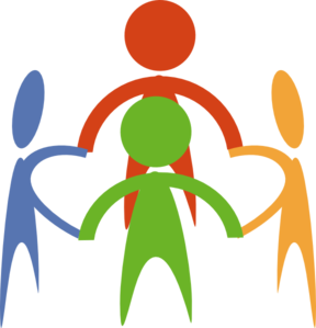 vector freeuse download People Holding Hands In A Circle Clip Art at Clker