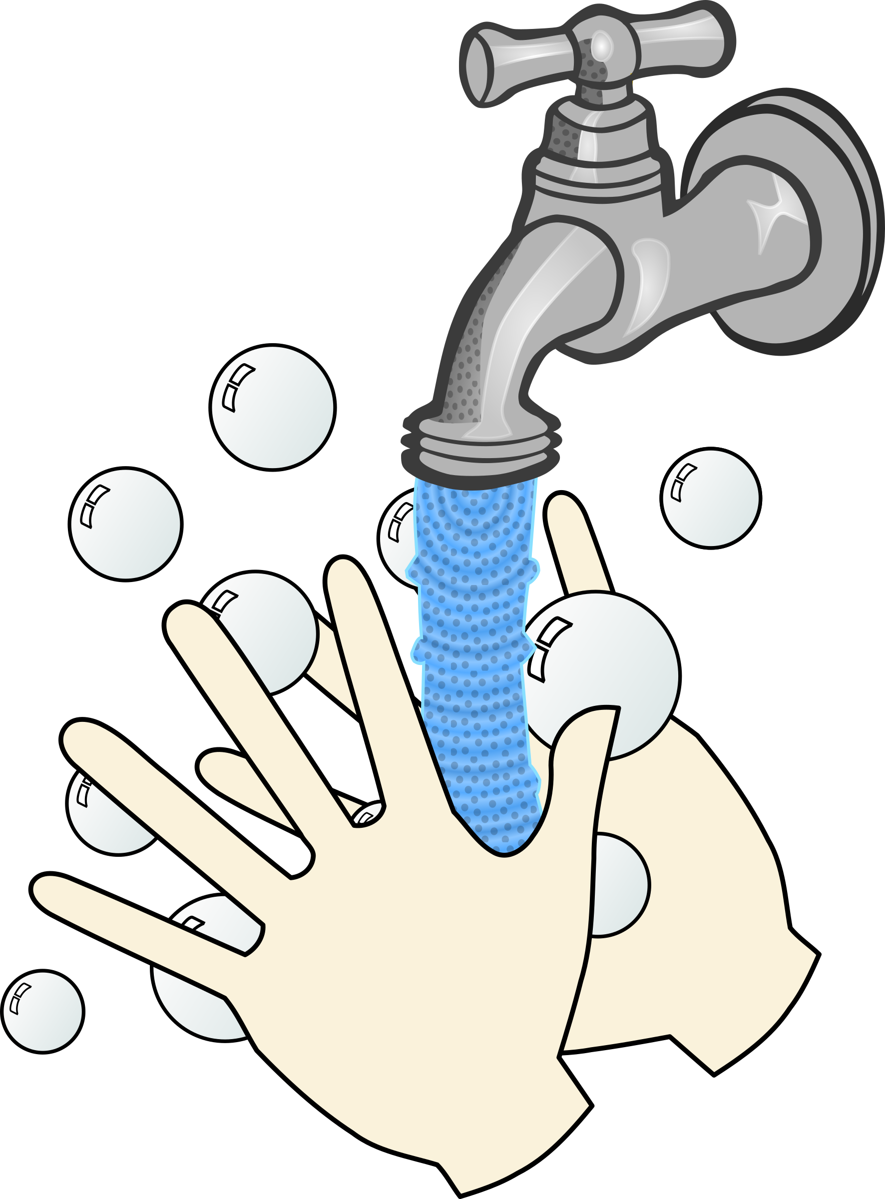 clip transparent library Washing hands with soap. Wet clipart wet rag