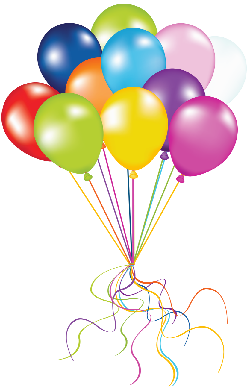 vector royalty free download Transparent Balloons PNG Picture
