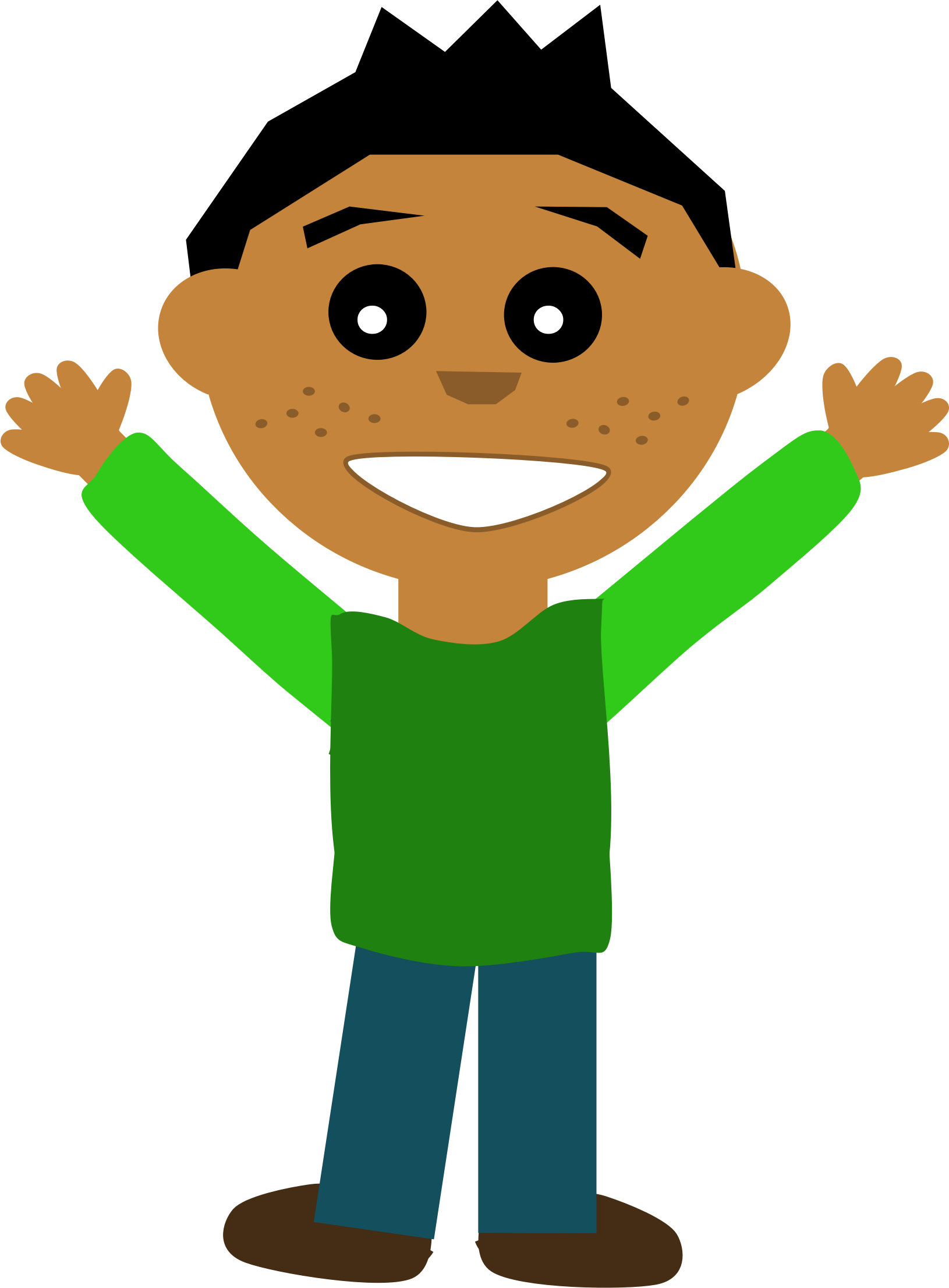 free Guy clipart. Happy big image png