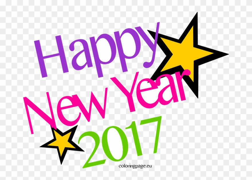 picture royalty free library Clipart happy new year 2017. X collection of high