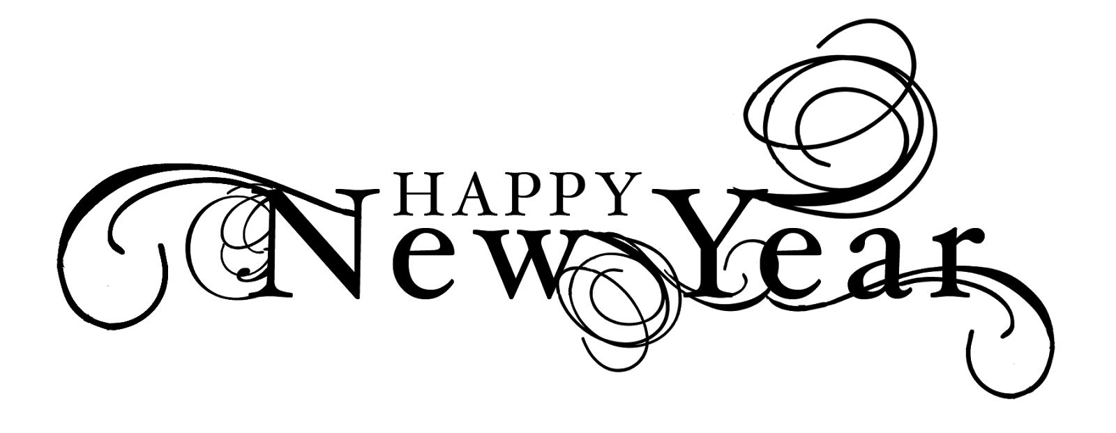 svg library stock Text png clip art. Clipart happy new year 2017