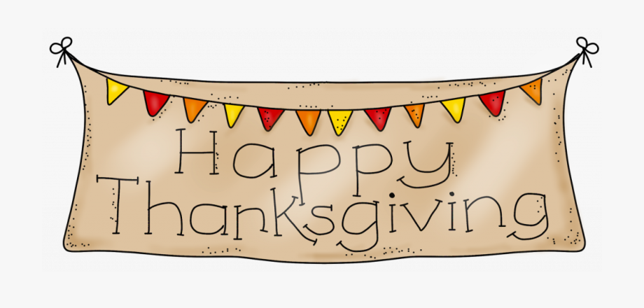 banner royalty free Clipart happy thanksgiving. Break no school november