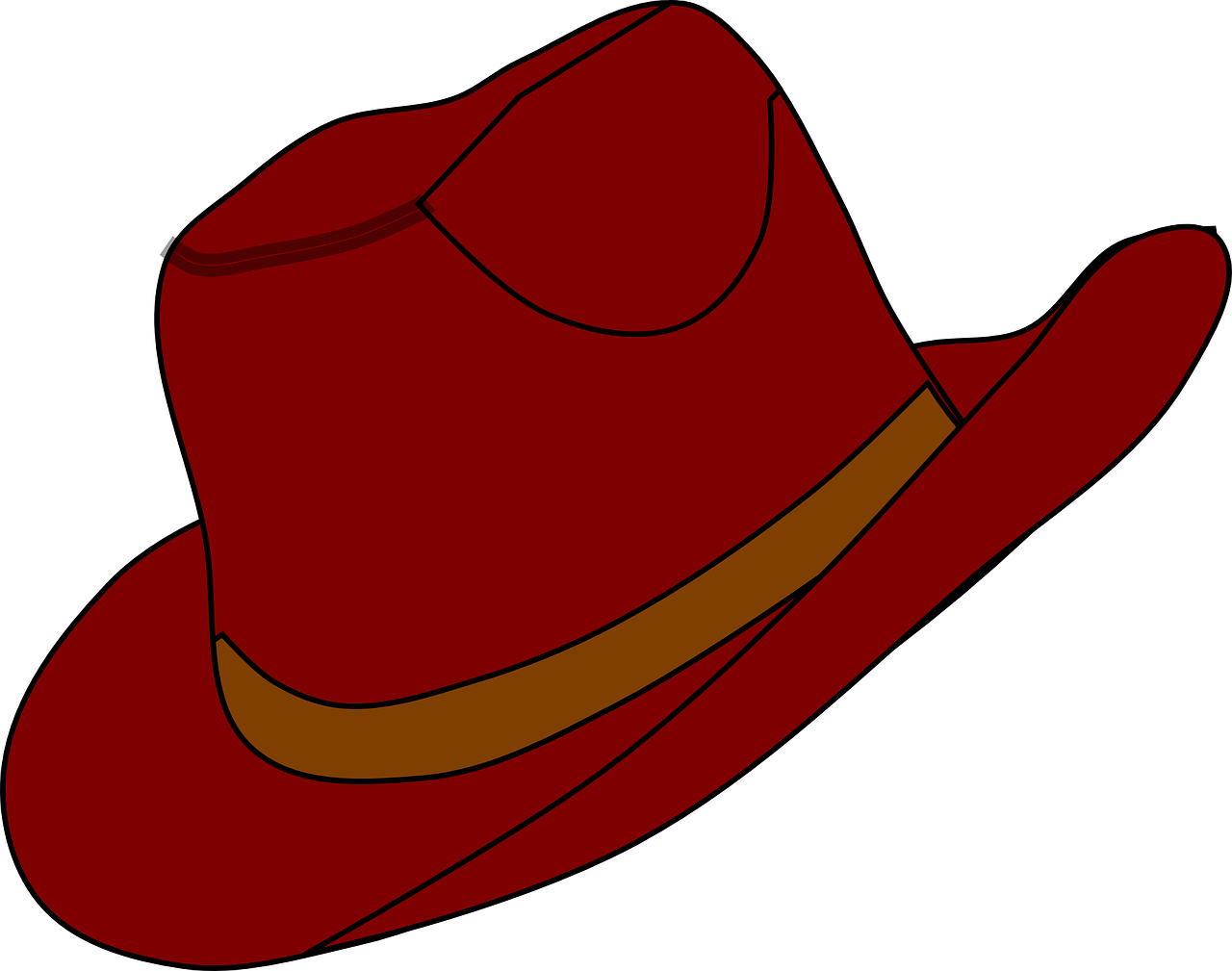 freeuse download Free cowboy hat clip. Western themed clipart