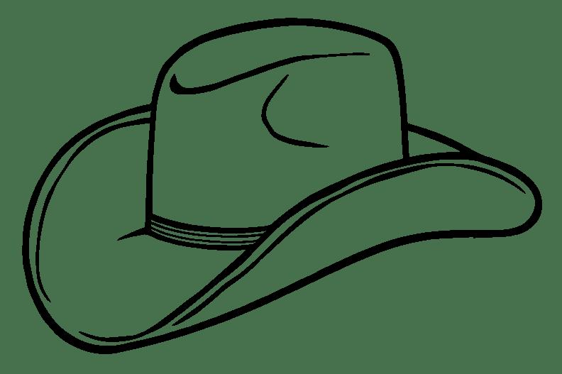 transparent Cowboy hat png photos. Vintage western clipart