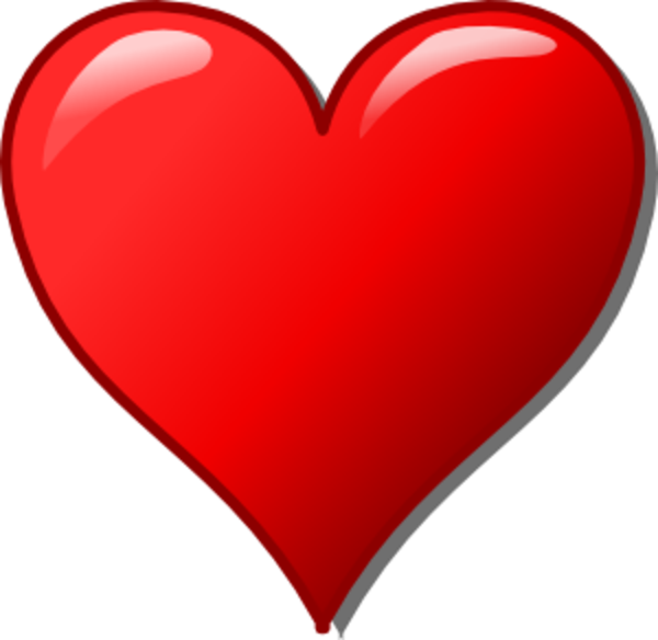 free stock Free images at clker. Heart clipart