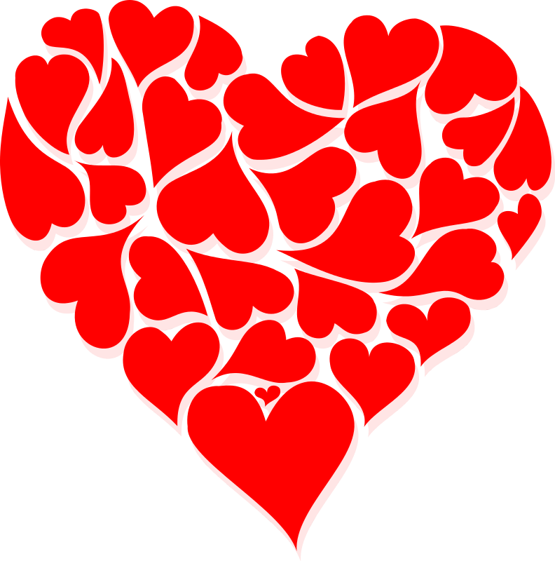 clip library library Hearts clip art week. Valentine clipart
