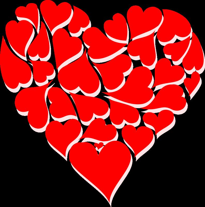 picture free Hearts clip. Valentine art week .