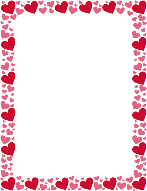 banner freeuse library Clipart hearts borders. Pin by muse printables