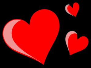 jpg transparent stock Three clipart . Hearts clip.