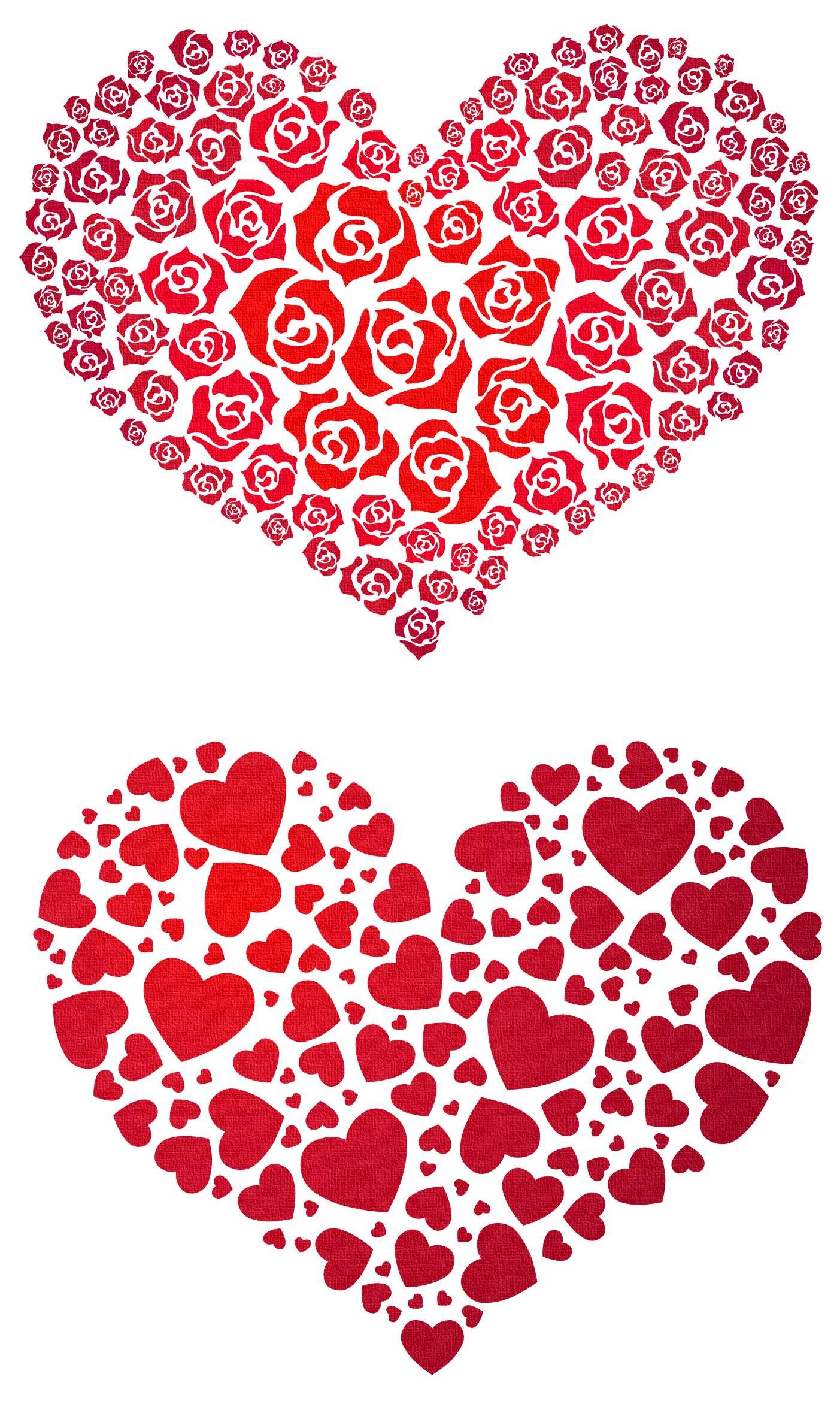 clip art library download Valentine vector background. Hearts png clipart gallery
