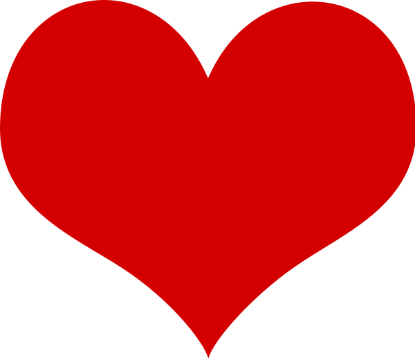 transparent stock Heart clipart. Panda free images