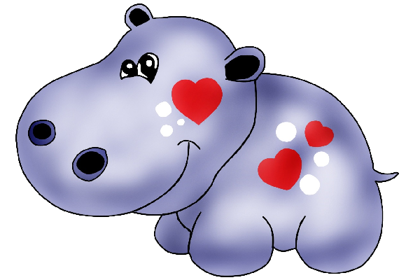 png Hippo clipart. Luv pinterest rhinos and