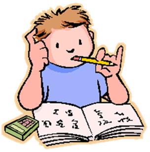 clipart freeuse download Homework clipart. Cliparts studyig