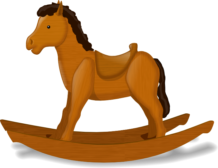 jpg royalty free library Horse free graphics of. Brown clipart pony