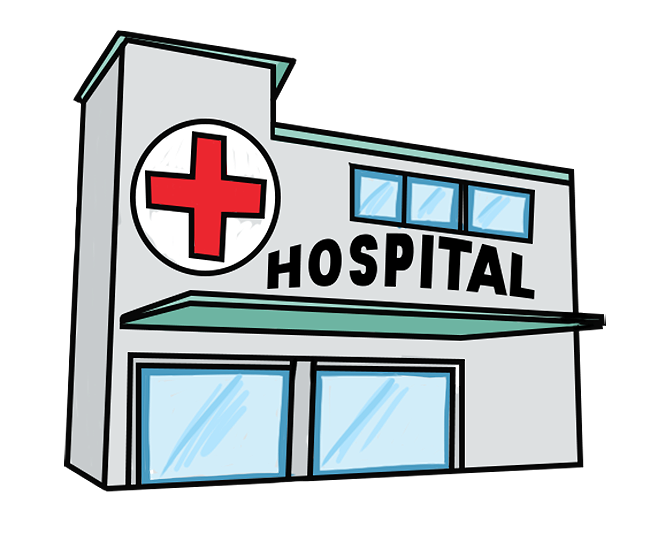 graphic library library Stay free on dumielauxepices. Hospital clipart.