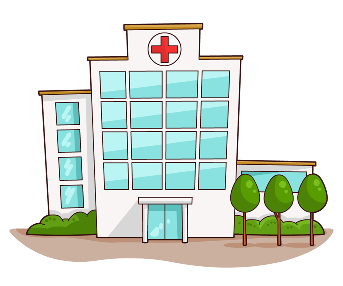 clipart library library Hospital free images pics. Accident clipart minor injury
