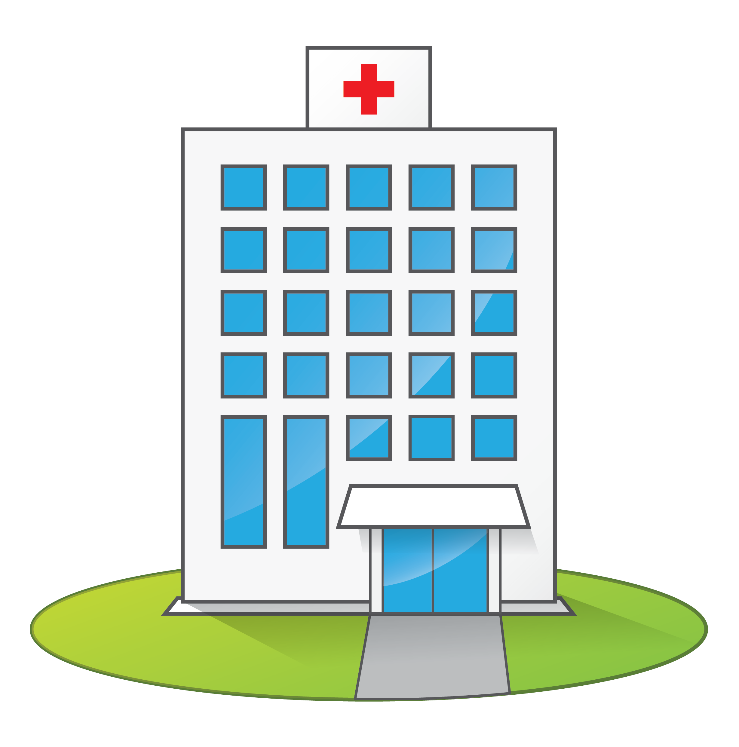 banner free cartoon hospital clip art