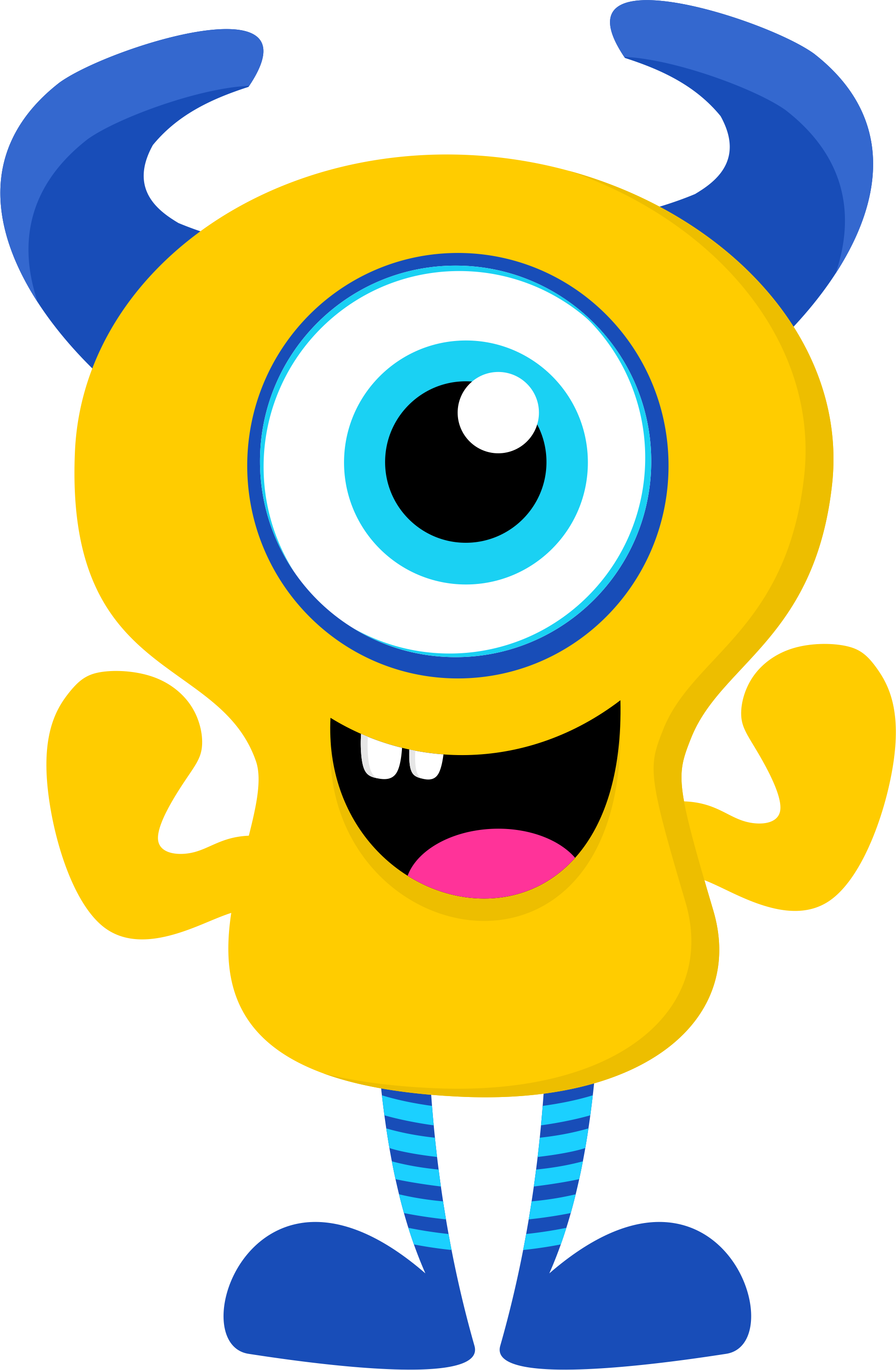 svg free stock Ch b de minus. Creatures clipart yellow monster.