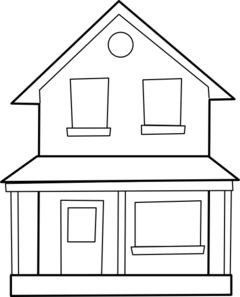 banner transparent Drawings of clipart . Houses drawing