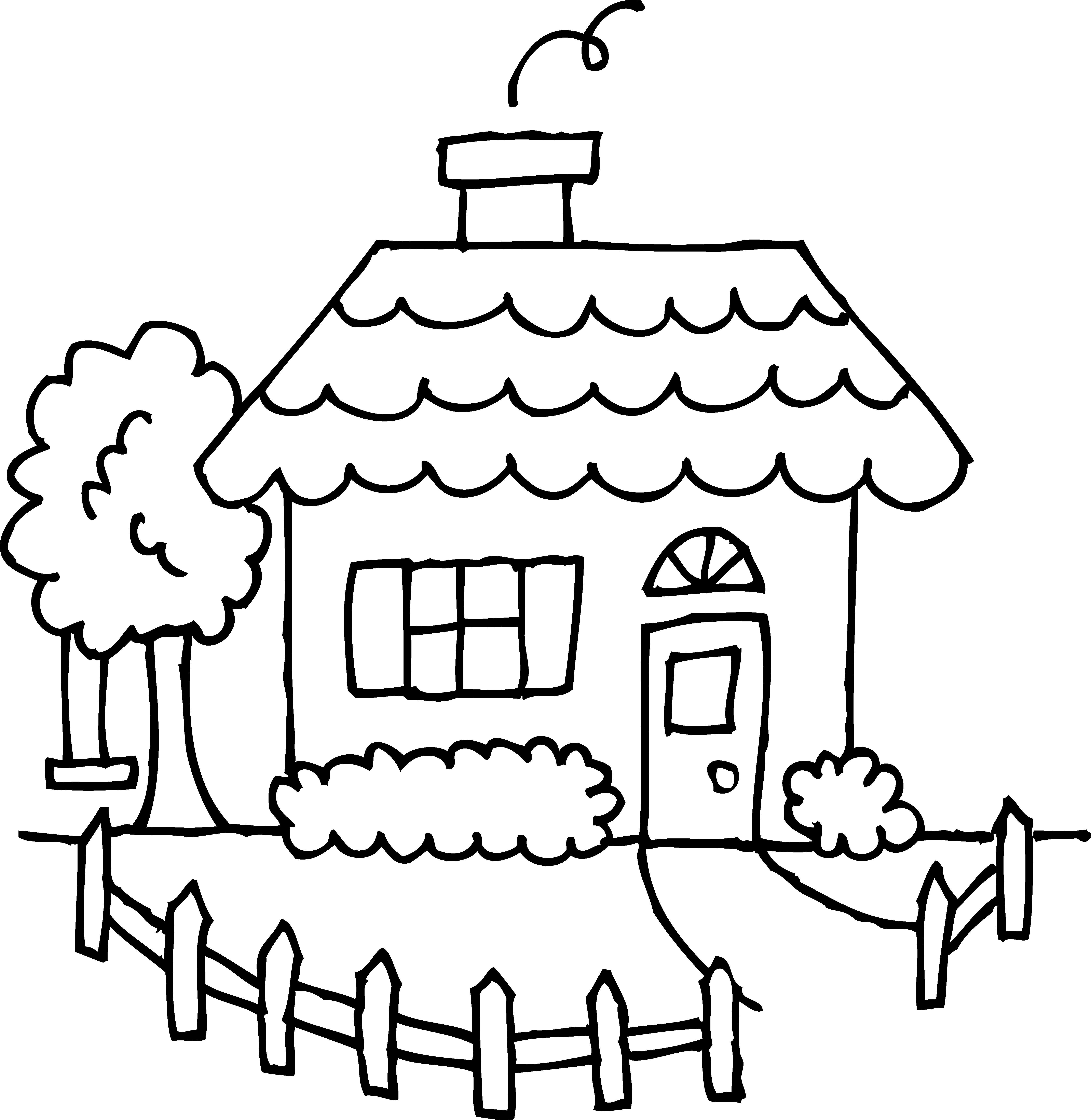 clipart royalty free library Yard clipart country house. White number free on