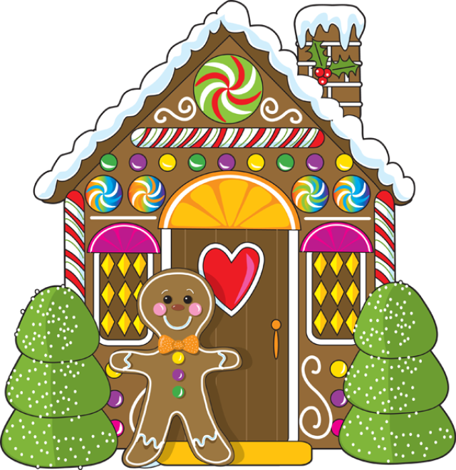 clip art stock Walking home clipart. Candy house at getdrawings