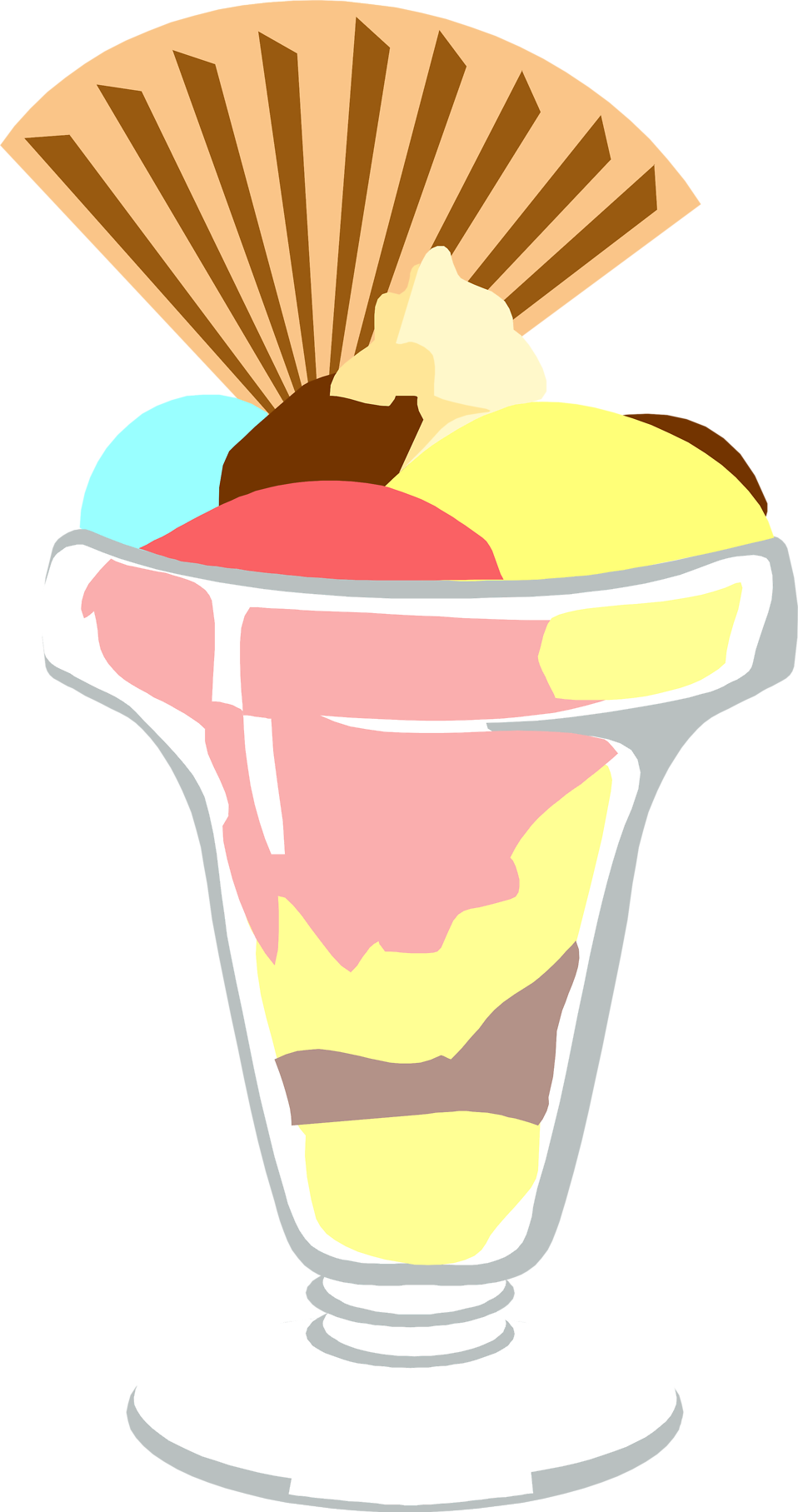 jpg Free stock photo illustration. Sundae clipart gelato italian