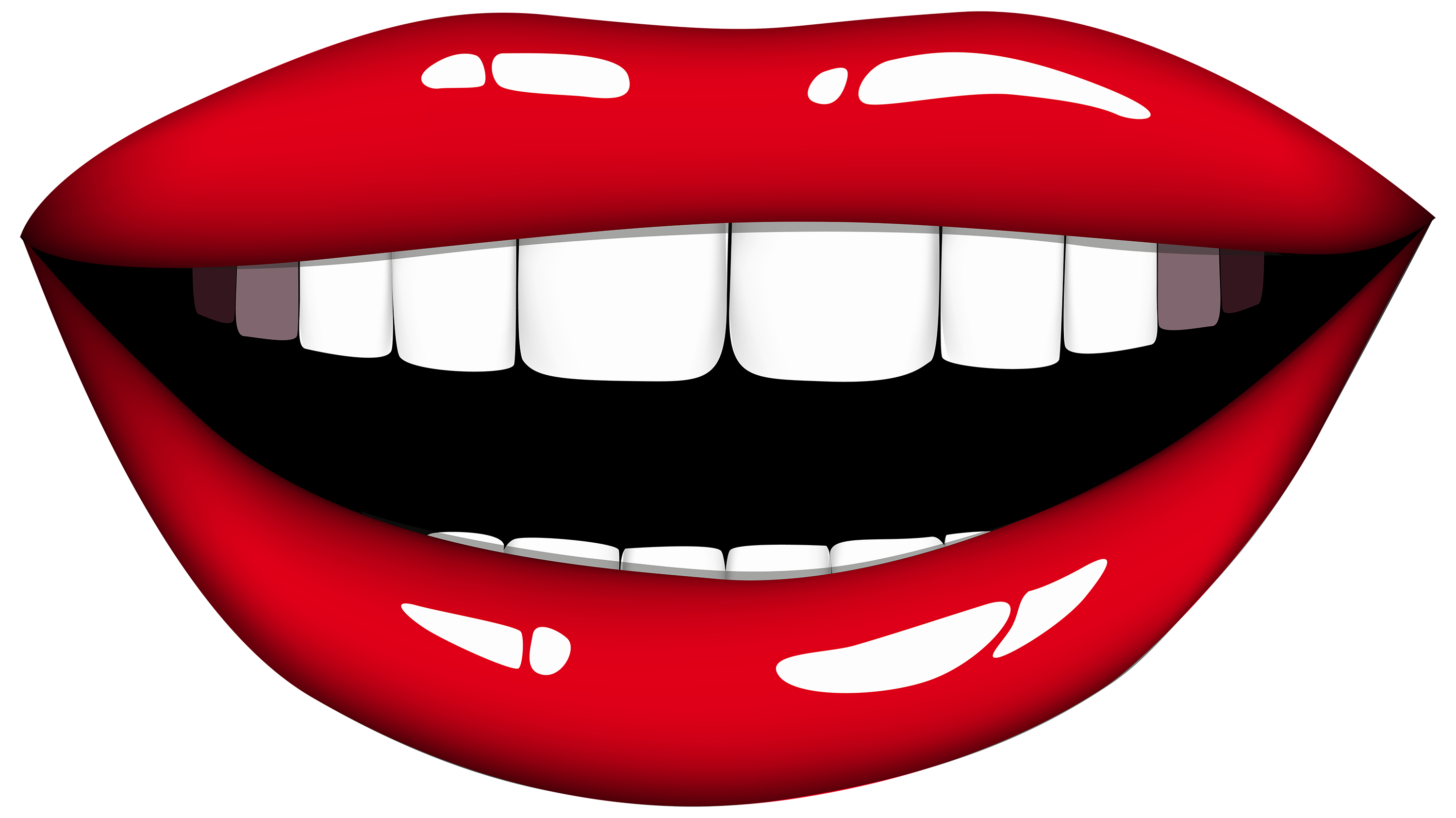 graphic freeuse download Smiling png best web. Mouth clipart.