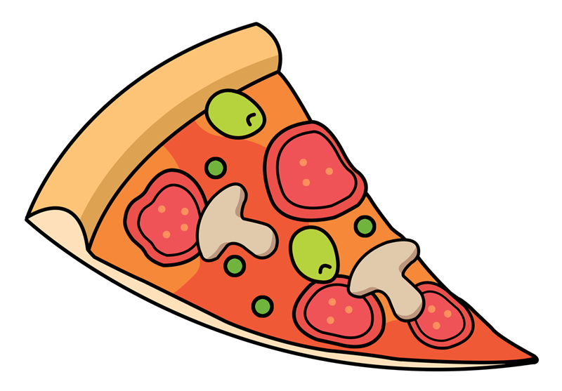 image freeuse Slice panda free images. Italian clipart peperoni pizza