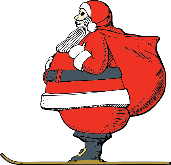 svg freeuse Clipart jacket. Santa free on dumielauxepices