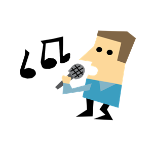 picture library Clipart karaoke. Man cliparts of free