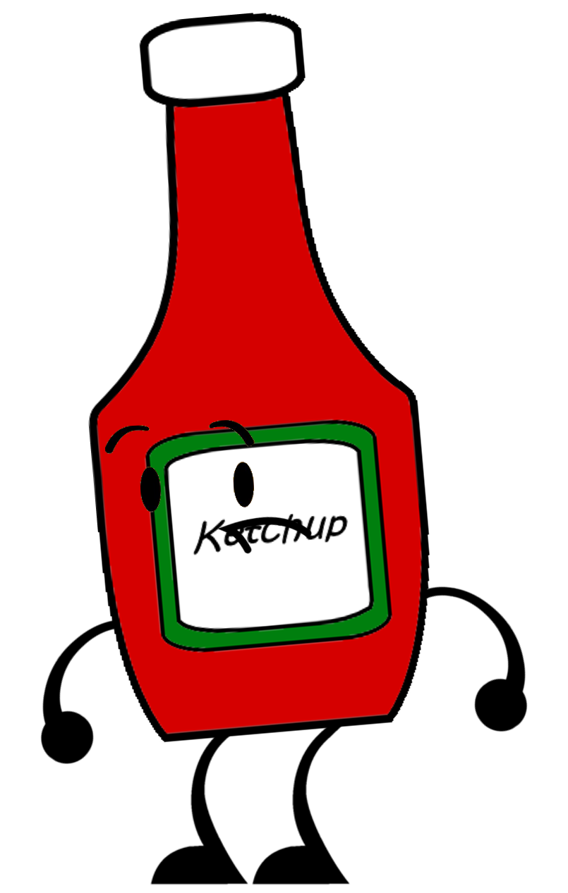 clip royalty free Clipart ketchup. Bottle object exemption by