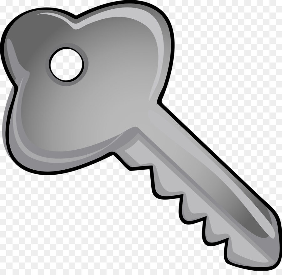 picture library Silver clip art illustration. Clipart key.