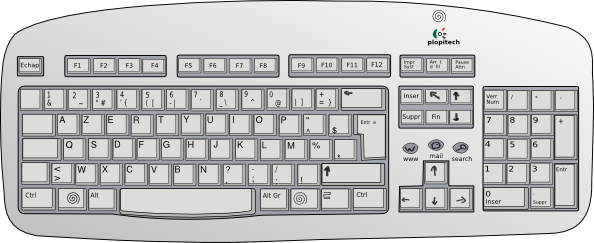 clipart library stock Clipart keyboard. Clip art at clker