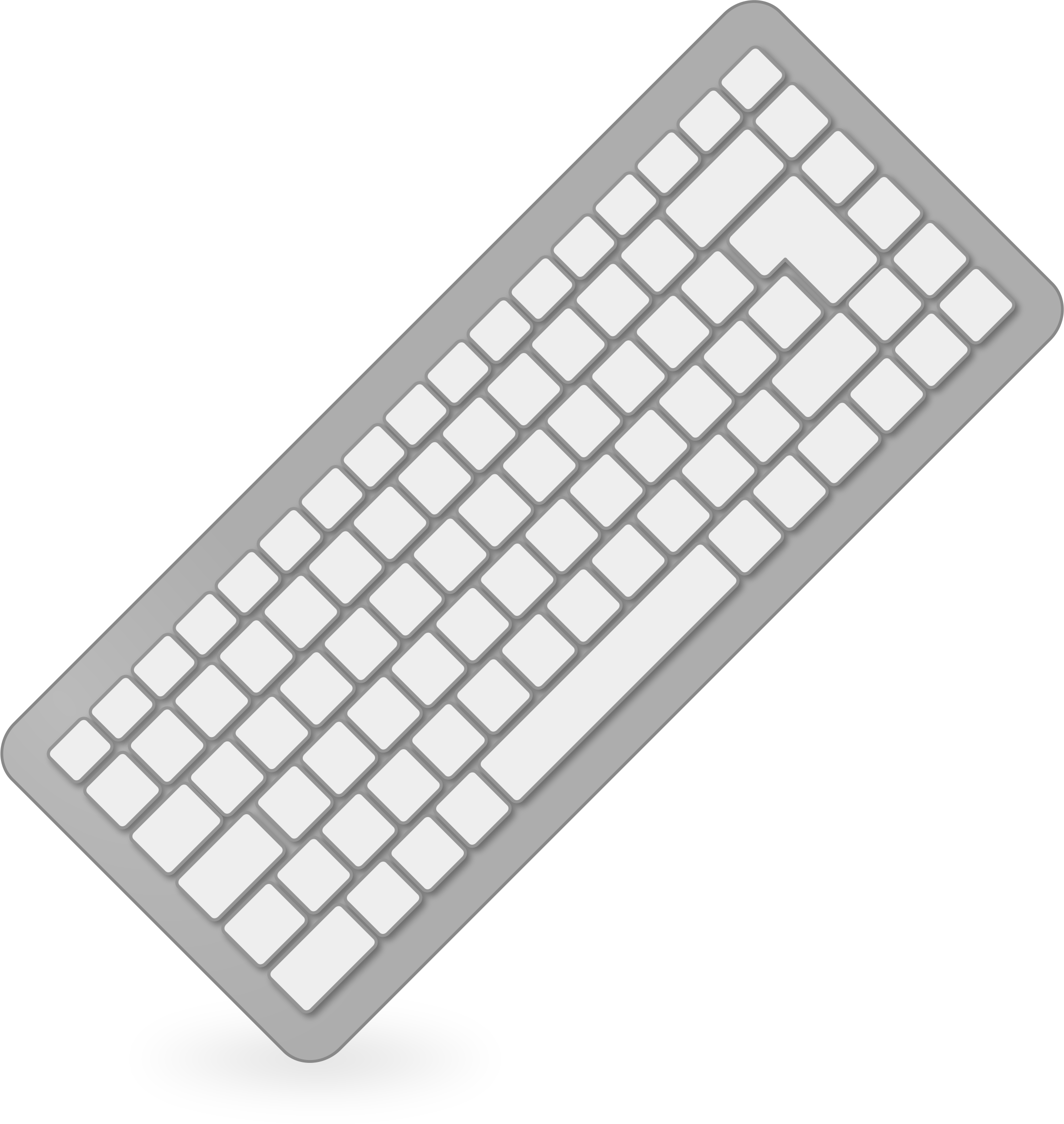 image black and white stock Clipart keyboard. Big image png