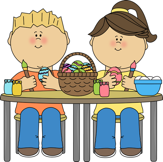 image royalty free Clipart Kids At Table